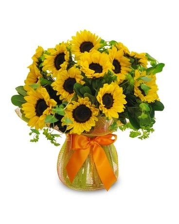 Midwood's Happy Sunflowers Flower Arrangement