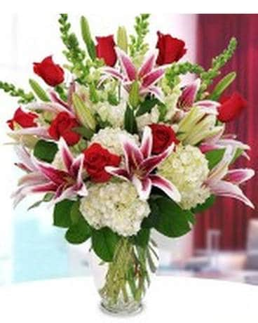 Midwood Flower Shop's Passionate Love Bouquet Flower Arrangement