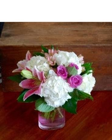 Midwood's Pretty In Pink Flower Arrangement