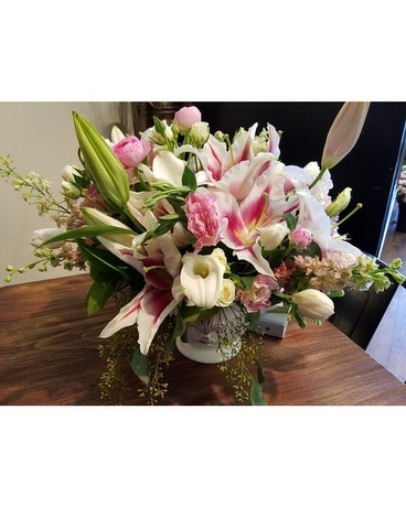 Lovely Lillies Flower Arrangement