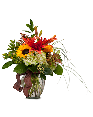 Color Me Autumn Flower Arrangement