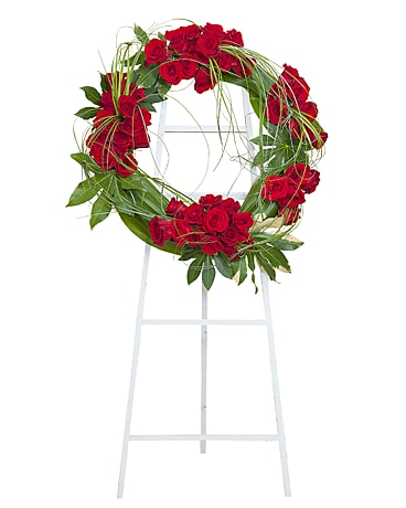 Royal Wreath Funeral Arrangement