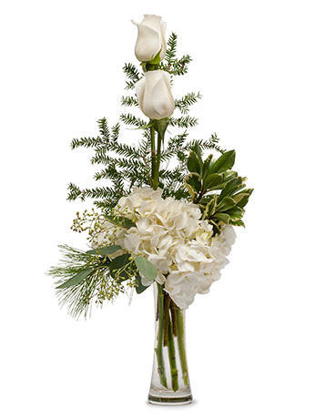 Heavenly White Flower Arrangement