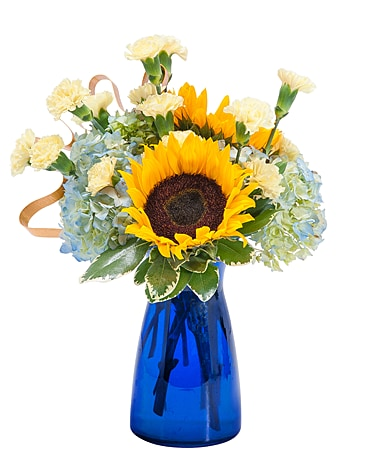 Good Morning Sunshine Flower Arrangement