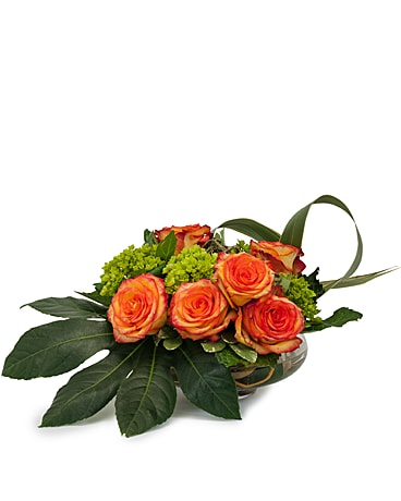 On Fire Flower Arrangement