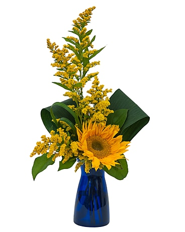 Simply Sunflower Flower Arrangement