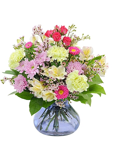 Spring Palett Flower Arrangement