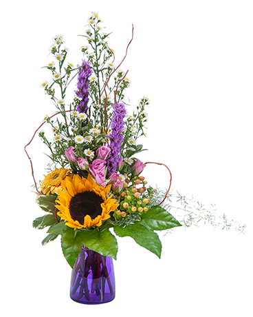 Wildflower Welcome Flower Arrangement