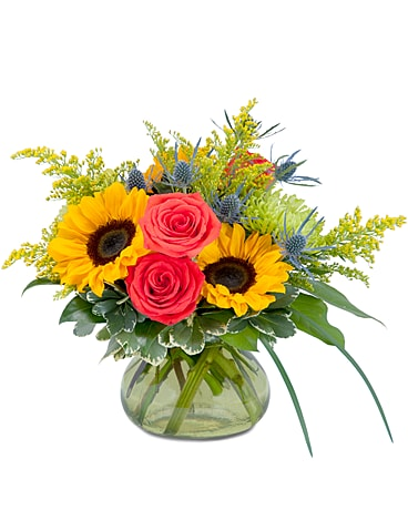 Sunlit Beauty Flower Arrangement