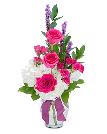 Popular Pink Flower Arrangement