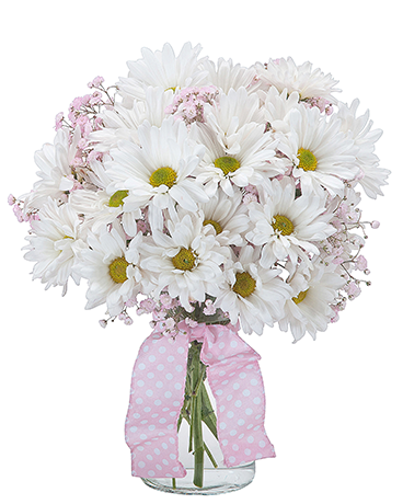 Baby Pink Flower Arrangement