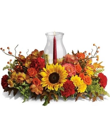 Delight-fall Centerpiece Flower Arrangement