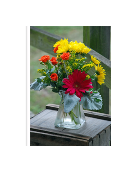 Sunny Daze Flower Arrangement