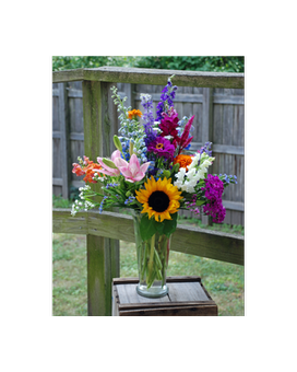 Summer Flower Garden Bouquet Flower Arrangement