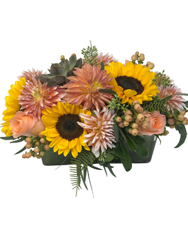Tangerine Dream Flower Arrangement