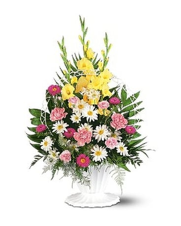 Basket of Faith Flower Arrangement