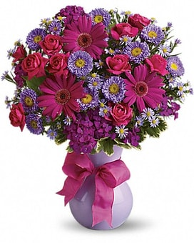 Teleflora's Joyful Jubilee Flower Arrangement