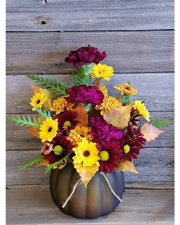 Fall Frenzy Flower Arrangement