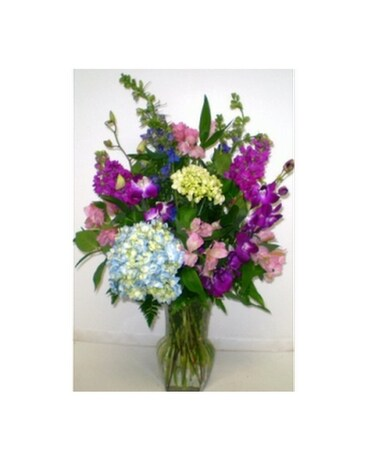 Spring Garden Splendor Flower Arrangement