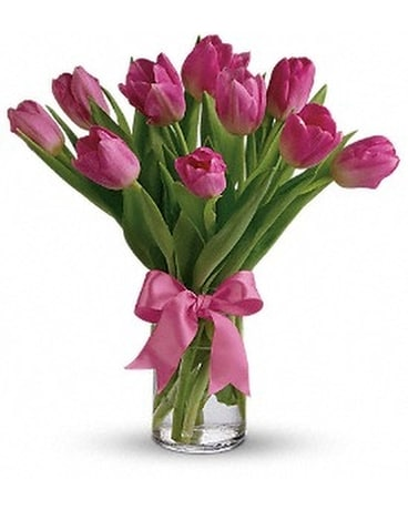 Precious Pink Tulips Custom product
