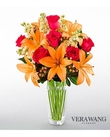 FTD Luxe looks Bouquet- Vera Wang Flower Arrangement