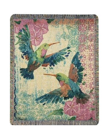 hummingbird zealous blanket Gifts