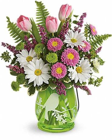 Teleflora's Songs of Spring Bouquet Flower Arrangement