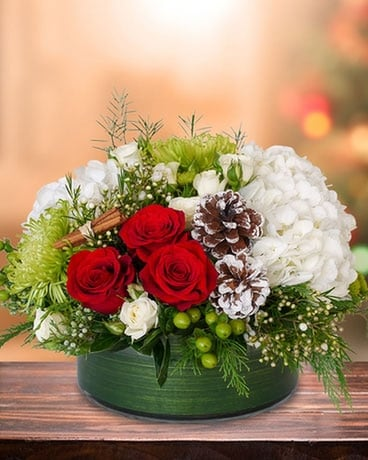 Warm Wishes Flower Arrangement