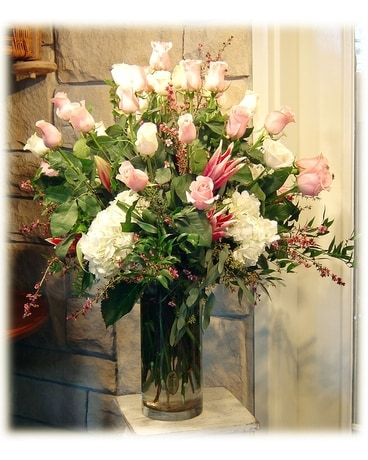 The Rose Shop Custom Flower Arrangement