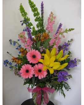 Festival of Color Flower Arrangement