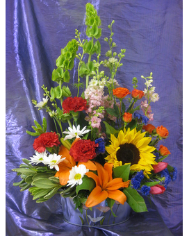Burst of Spring Bouquet Flower Arrangement
