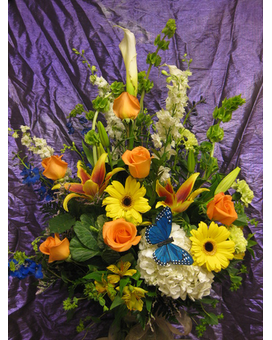 Isle of Sunshine Bouquet Flower Arrangement