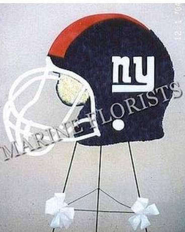 Funeral Custom - NY Giants Helmet