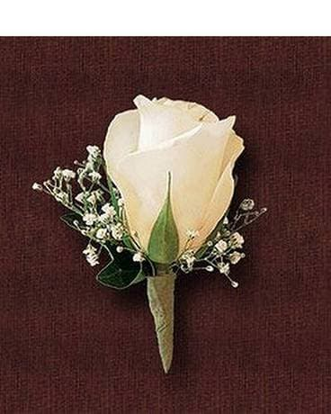 Garden Rose Boutonniere prom corsages & boutonnieres delivery brooklyn ny - marine florists