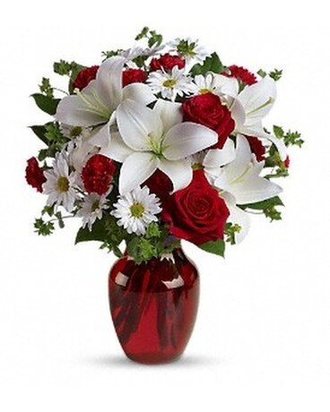 Be My Love Bouquet with Red Roses - by New York Be Custom product