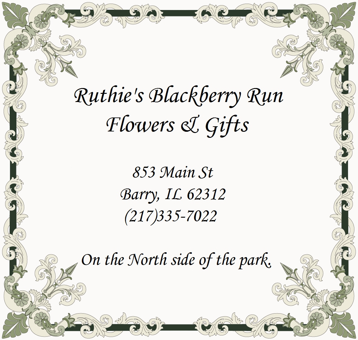 Pretty Please In Barry Il Ruthies Blackberry Run Flowers Gifts