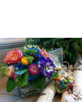 Jelly Bean Flower Arrangement