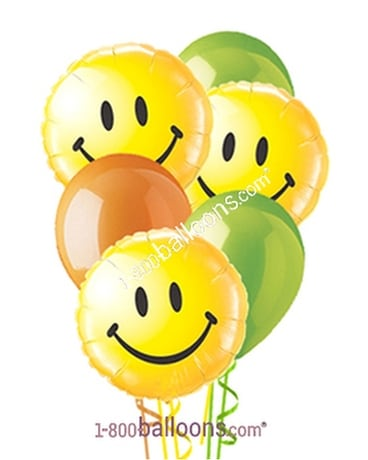 Smiles Miles Wide Balloons