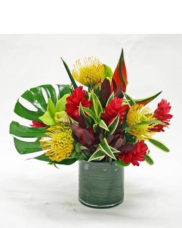 TROPICAL LILY Flower Arrangement