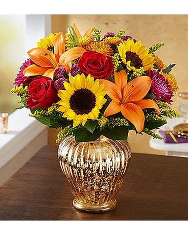 Autumn Brilliance Flower Arrangement