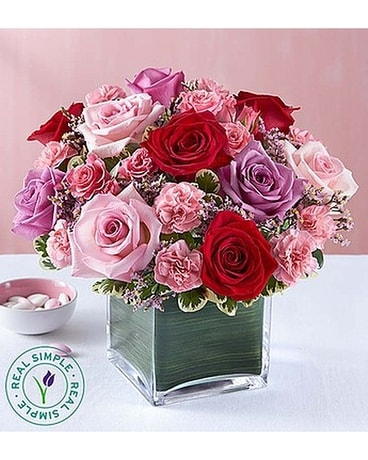 Forever Yours Rose Medley by Real Flower Arrangement