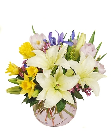 Easter Colors Flower Arrangement