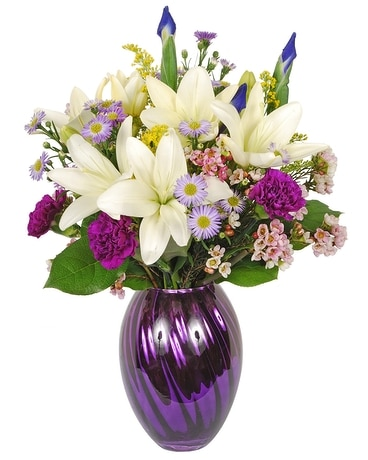 Touch of Spring Flower Arrangement