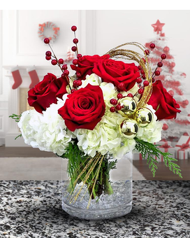 Winter Chic Bouquet Flower Arrangement