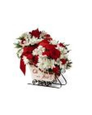 Holiday Traditions Flower Arrangement