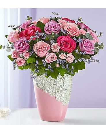 Cascading Rose Bouquet Flower Arrangement