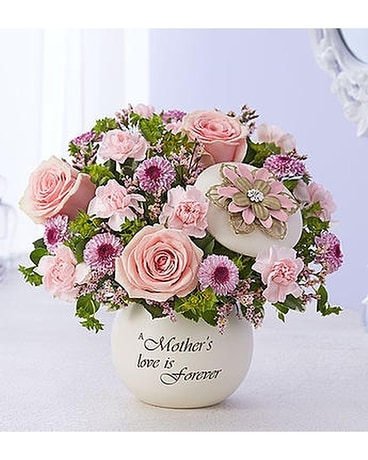 Mother's Forever Love Flower Arrangement