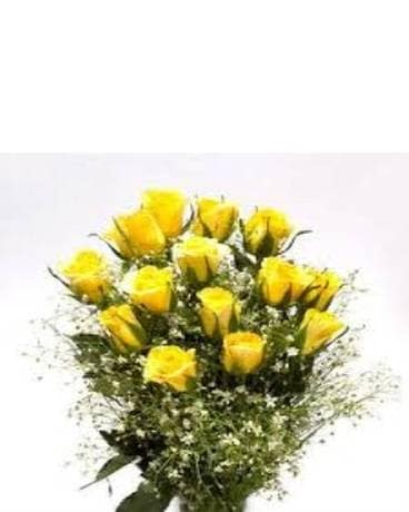 Dozen Cut yellow Roses