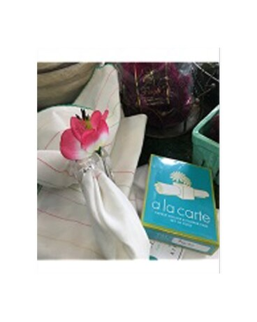Napkin Holder And Flower Vase Set In Pascagoula Ms Pughs Floral