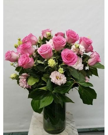 English Rose Garden Flower Arrangement